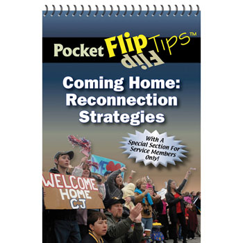 Pocket Flip Tip Book: (10 Pack) Coming Home   Reconnection Strategies