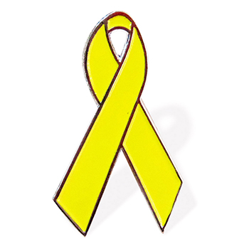 Yellow Ribbon Lapel Pin (25 Pack)