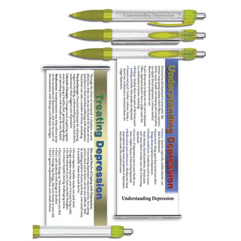 Understanding Depression   Military Instant Facts Banner Pen