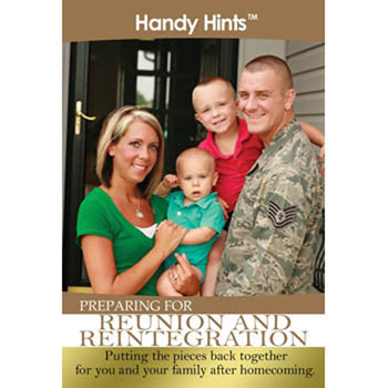 Handy Hints Foldout: (25 Pack) Preparing for Reunion & Reintegration