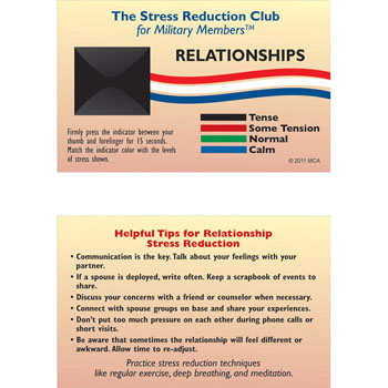 Stress Card: (25 Pack) Relationships