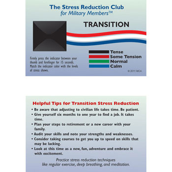 Stress Card: (25 Pack) Transition