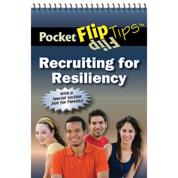 Pocket Flip Tip Book: (10 Pack) Recruiting for Resiliency