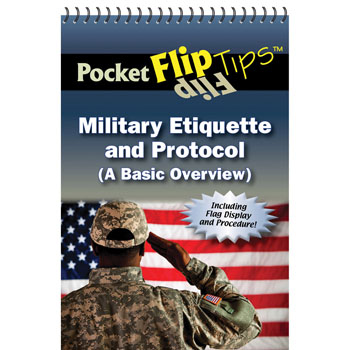 Pocket Flip Tip Book: (10 Pack) Military Etiquette & Protocol