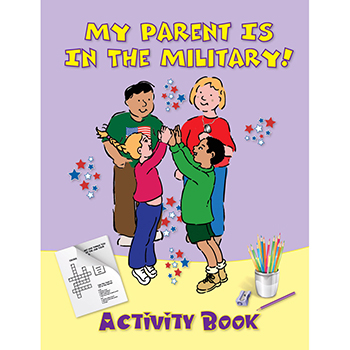 Yellow Ribbon Activity Book: (50 Pack) My Parent is in the Military!