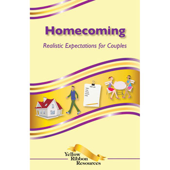 Yellow Ribbon Program Booklet: (25 pack) Homecoming   Realistic Expectations for Couples