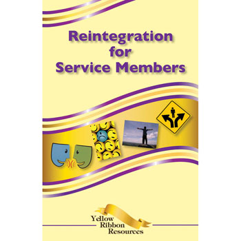 Yellow Ribbon Program Booklet: (25 pack) Reintegration for Service Members
