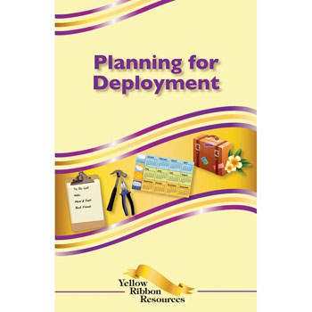Yellow Ribbon Program Booklet: (25 pack) Planning for Deployment