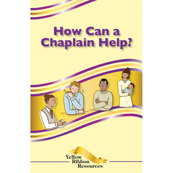 Yellow Ribbon Program Booklet: (25 pack) How Can a Chaplain Help?