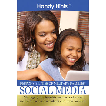 Handy Hints Foldout: (25 Pack) Responsibilities of Military Families: Social Media