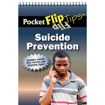 Pocket Flip Tip Book: (10 Pack) Suicide Prevention