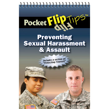 Pocket Flip Tip Book: (10 Pack) Preventing Sexual Harassment & Assault