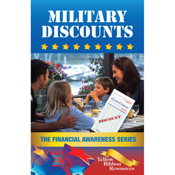Yellow Ribbon Financial Awareness Booklet: (25 pack) Military Discounts