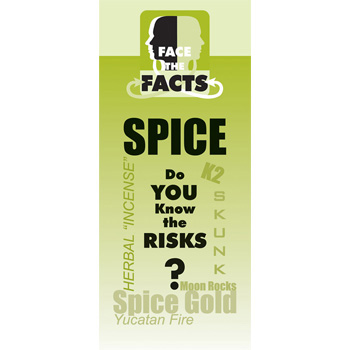 Face the Facts: (25 Pack) Spice Drug Prevention Pamphlet