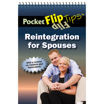 Pocket Flip Tip Book: (10 Pack) Reintegration for Spouses