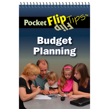Pocket Flip Tip Book: (10 Pack) Budget Planning