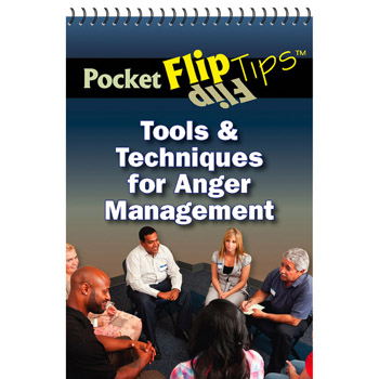 Pocket Flip Tip Book: (10 Pack) Tools & Techniques for Anger Management