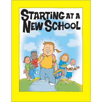 Starting At A New School Activity Book