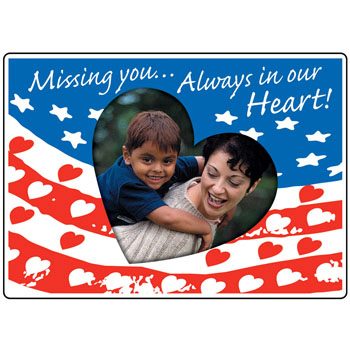 Missing You   Picture Frame Magnet (25 Pack)