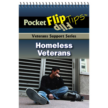VA Pocket Flip Tip Book: (10 Pack) Homeless Veterans
