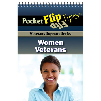 VA Pocket Flip Tip Book: (10 Pack) Women Veterans