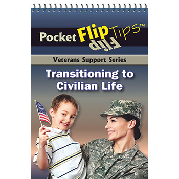 VA Pocket Flip Tip Book (10 Pack) Transitioning to Civilian Life