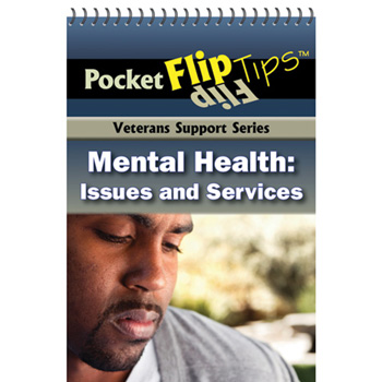 VA Pocket Flip Tip Book: (10 Pack) Mental Health Issues & Services