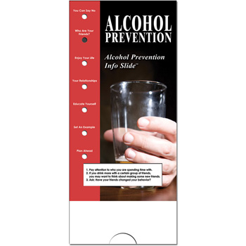 Military Info Slide: (25 Pack) Alcohol Prevention