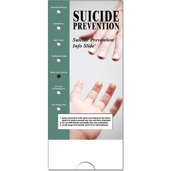 Military Info Slide: (25 Pack) Suicide Prevention