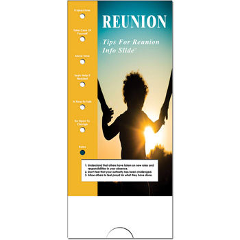 Military Info Slide: (25 Pack) Reunion