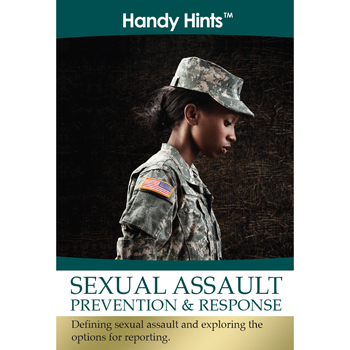 Handy Hints Foldout: (25 Pack) Sexual Assault