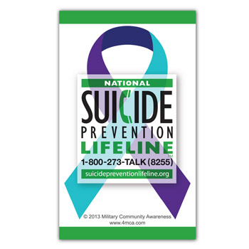 Suicide Prevention Magnet (25 Pack)