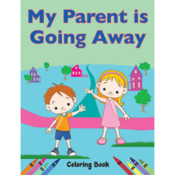 Color Me Coloring Book: (50 Pack) My Parent is Going Away