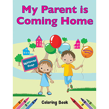 Color Me Coloring Book: (50 Pack) My Parent is Coming Home