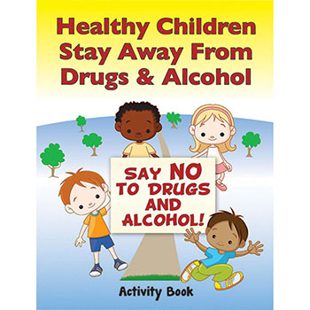 My Military Activity Book: (50 Pack) Healthy Children Stay Away from Drugs & Alcohol