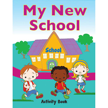 My Military Activity Book: (50 Pack) My New School