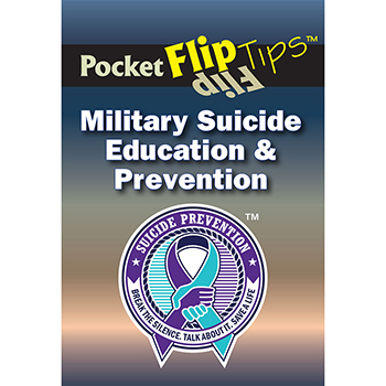 Pocket Flip Tip Book: (10 Pack) Military Suicide Education & Prevention