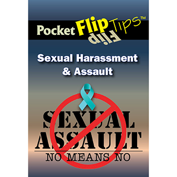Pocket Flip Tip Book: (10 Pack) Sexual Harassment & Assault