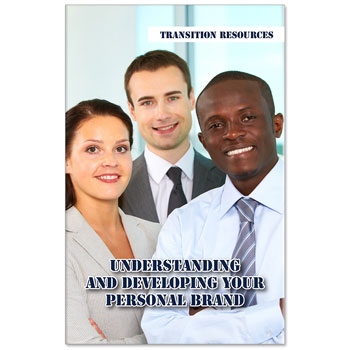 Transition Resources Booklet: (25 Pack) Understanding and Developing Your Personal Brand