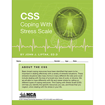 Coping with Stress Scale (CSS) Self‑Assessment