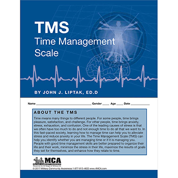 Time Management Scale (TMS) Self‑Assessment