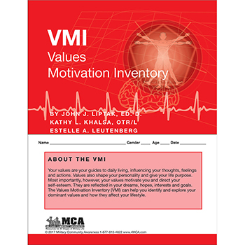 Values Motivation Inventory (VMI) Self‑Assessment