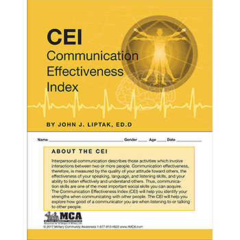 Communication Effectiveness Index (CEI) Self‑Assessment
