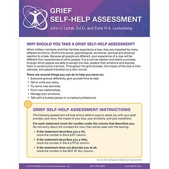 Grief Self‑Help  Assessment
