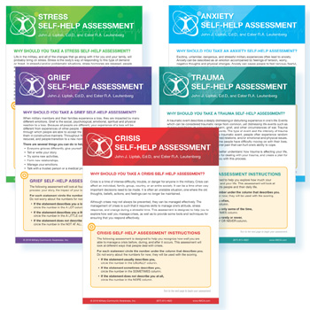 Self‑Help  Assessment Set of 5