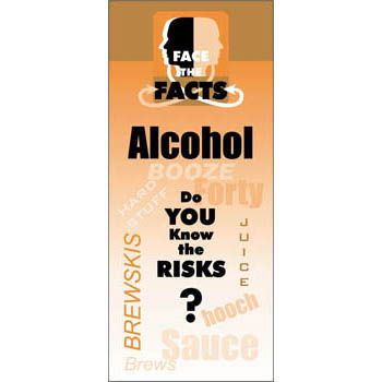 Face the Facts: (25 Pack) Alcohol Drug Prevention Pamphlet