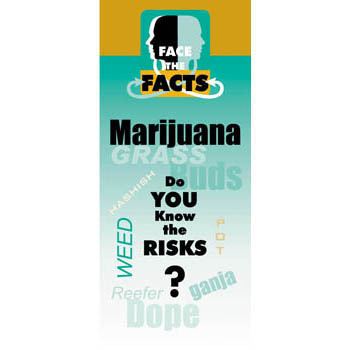 Face the Facts: (25 Pack) Marijuana Drug Prevention Pamphlet