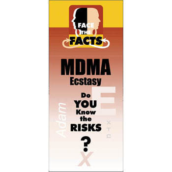 Face the Facts: (25 Pack) MDMA/Ecstasy Drug Prevention Pamphlet