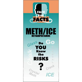 Face the Facts: (25 Pack) Methamphetamines Drug Prevention Pamphlet