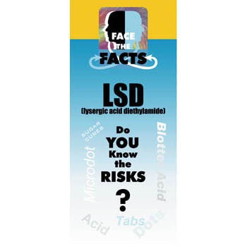 Face the Facts: (25 Pack) LSD Drug Prevention Pamphlet